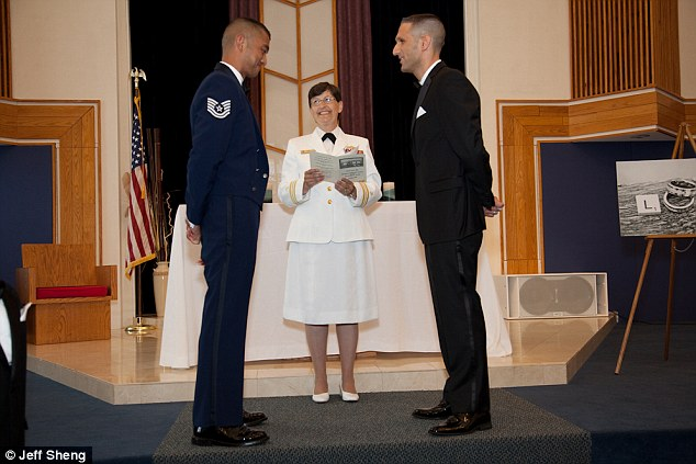 airman gay marriage