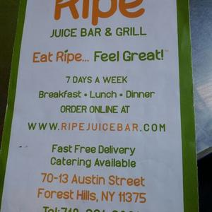 ripe juice bar and grill