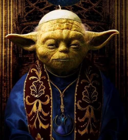 yoda pope