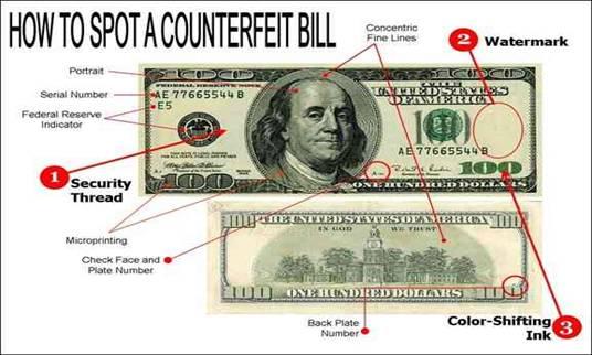 NYCTalking Counterfeit Money