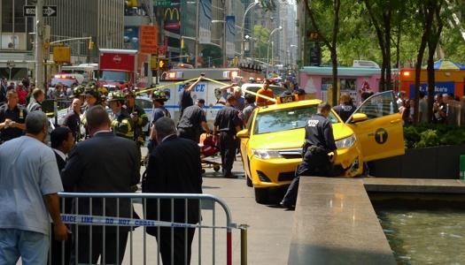 cab tourist legs