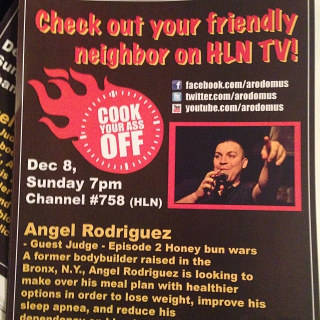 cook your ass off flyer