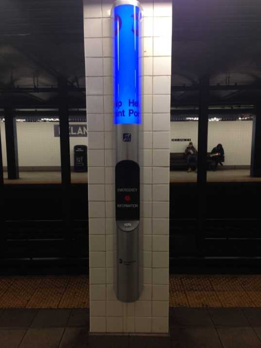 help point nyc subway
