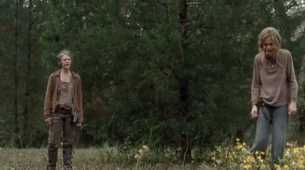 carol lizzie walking dead