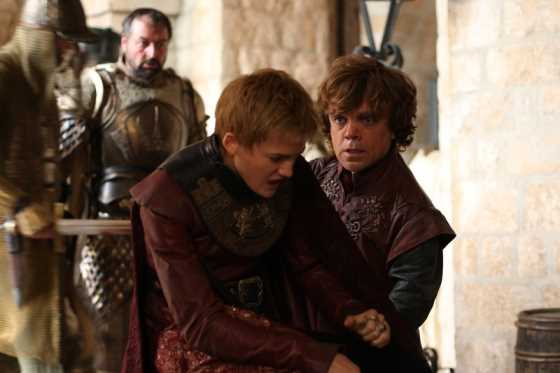 Safe in Red Keep, Tyrion rages at Joffrey.