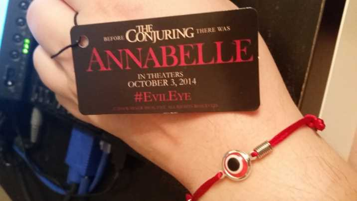 annabelle #evileye