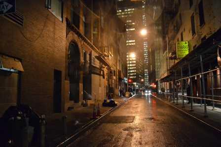 dark alley nyc