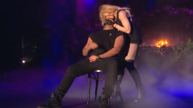 Madonna Kiss Drake