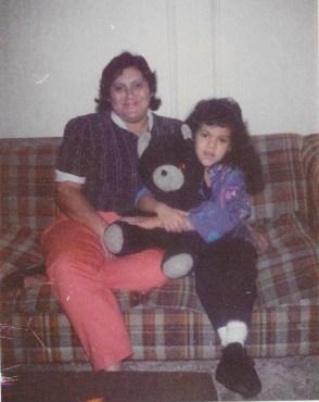 Mom and Yesy bear