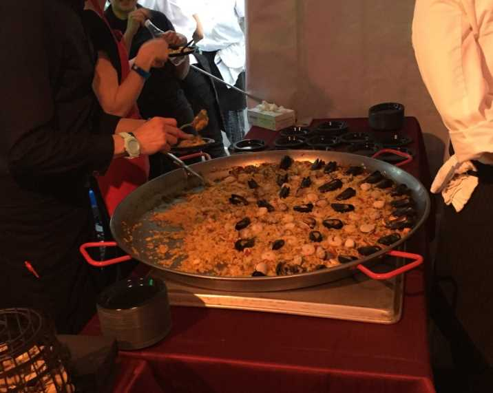 new taste uws paella