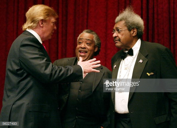 al sharpton and donald trump