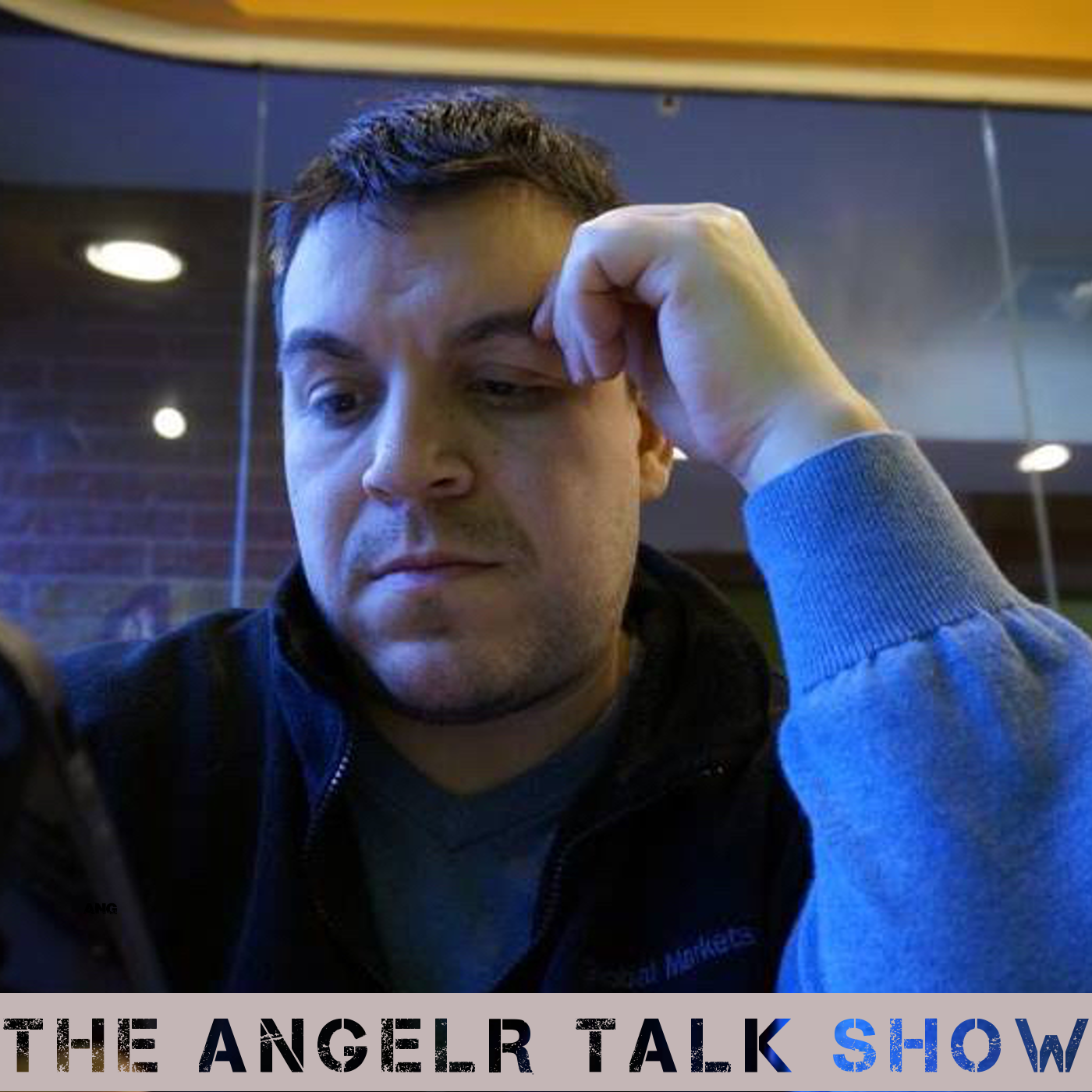 AngelR Talk Show Logo