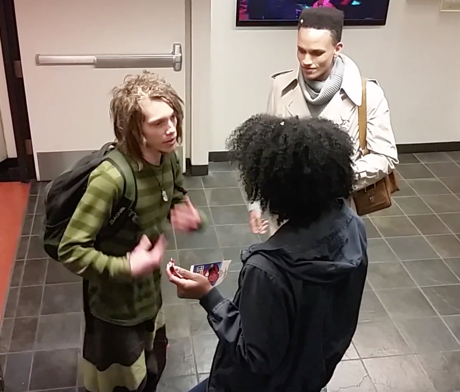 Black Woman Accosts White Man For Having Dreads