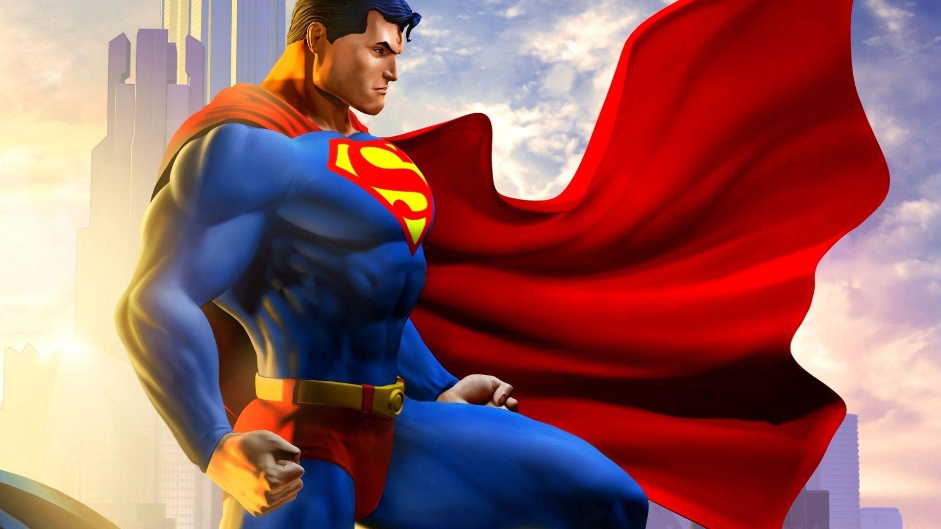 Superman-3D-Art