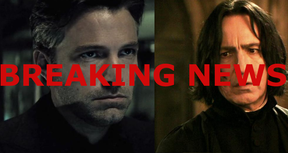 ben affleck is snape