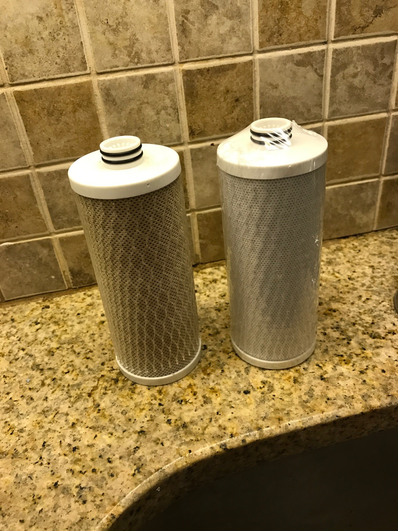 aquasana filter before and after