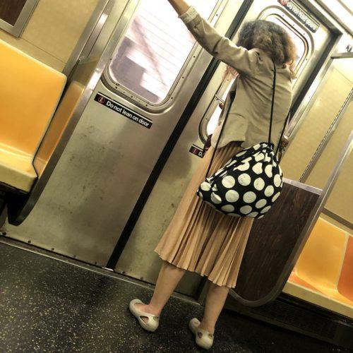 weird-woman-train